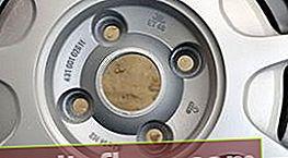 Маркування дисків коліс автомобіля