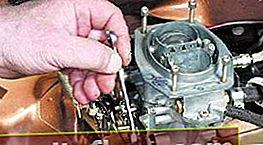 Nastavení karburátoru VAZ 2101