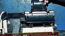 Výměna chladiče kamna VAZ 2109
