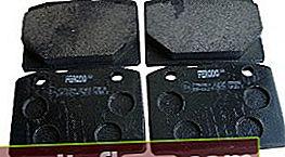 Brzdové destičky pro VAZ 2107