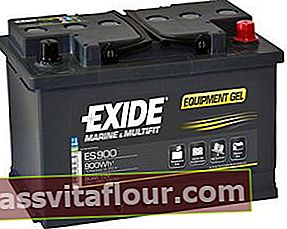 EXIDE 6СТ-80 АзЕ ES900 EQUIPMENT GEL