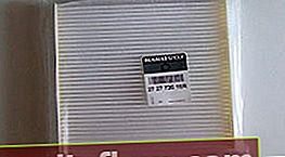 Kabinový filtr Lada Vesta