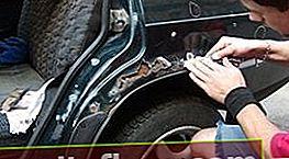 Boj proti korozi automobilu vlastními rukama