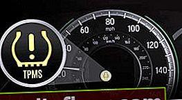 Горить датчик тиску в шинах