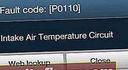 P0110 - помилка датчика температури всмоктуваного повітря