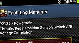 Помилка P2135 - розбіжність показників датчиків положення дросельної заслінки