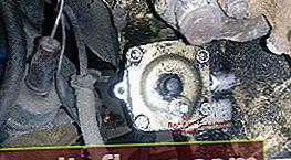 Výměna oleje v převodce řízení VAZ 2106