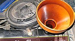 Výměna oleje a olejového filtru u modelu VAZ 2101 - 2107