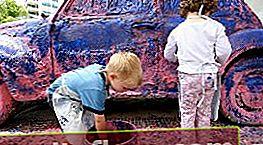 Příprava vozu na lakování gumovou barvou