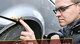 Jak odstranit rzi z karoserie automobilu