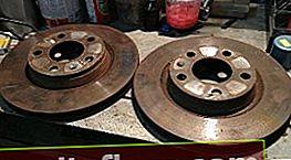 Гальмівні диски на Ауді А4 Б5
