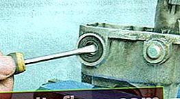 Заміна сальника штока в коробці передач Ланос і Нексія