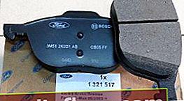 Какви спирачни накладки да поставите на Ford Focus 3