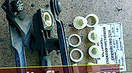 Подмяна на пластмасовата втулка на трапецовидната чистачка Ford Focus 1