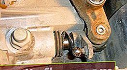 Смяна на уплътнението на селектора на скоростната кутия на Ford Focus 2