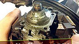 Проверка и смазване на втулките на мотора на печката Ford Focus 1
