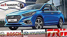 Bremsbeläge für Hyundai Solaris