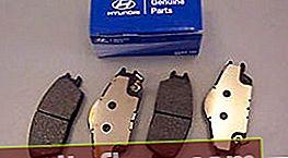 Pads für Hyundai Accent 2 TagAZ