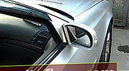 Înlocuirea elementului oglindă Mercedes W211