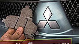 Zavorne ploščice za Lancer 9