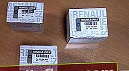 Filtru ulei Renault Duster