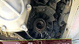 Toyota Avensis Box Öldichtungswechsel